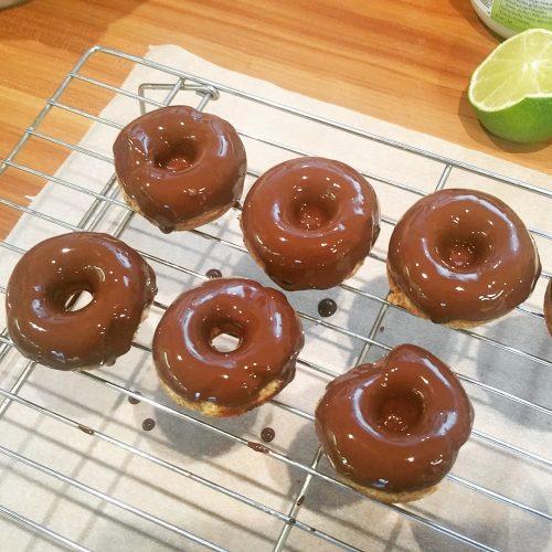 Mini-Donuts (glutenfrei, Low Carb und lecker)